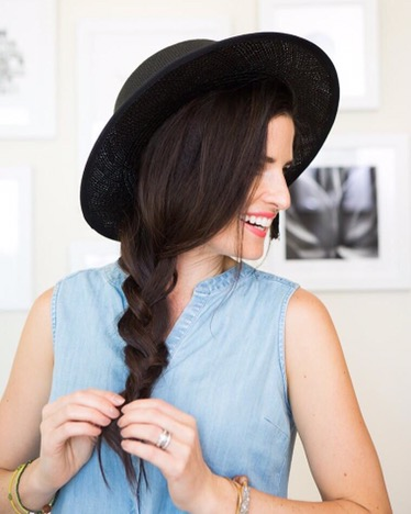 side-braid-hat