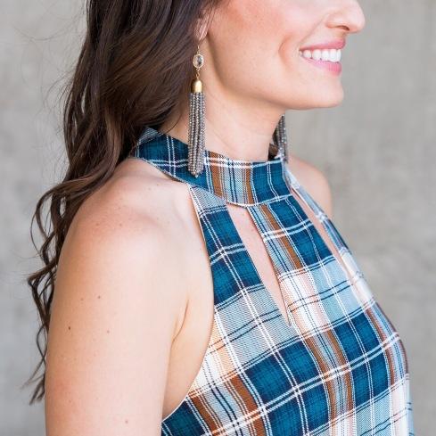 gemelli-tassel-earrings-discover-lola-plaid-dress