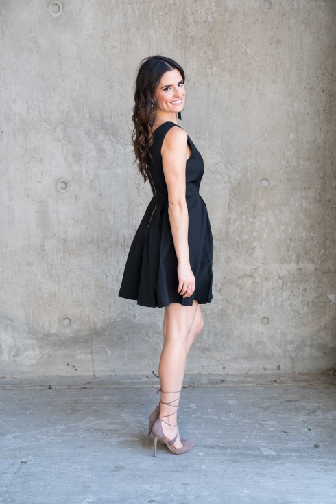 blogger-black-dress-lace-up-heel