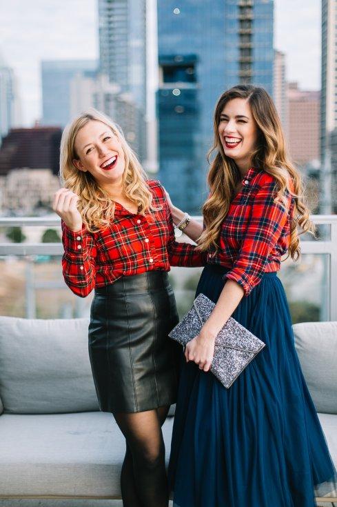 plaid-blouse-austin-fashion-bloggers