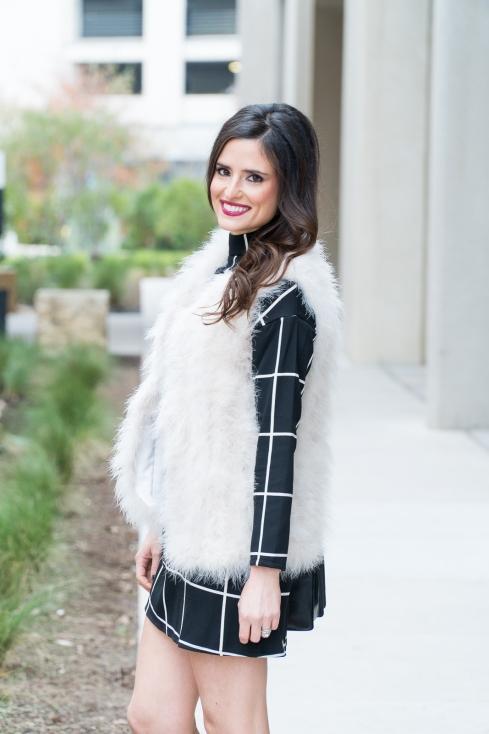 white-fur-vest