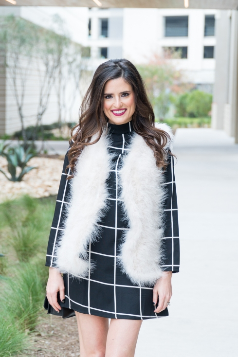 black-and-white-grid-dress