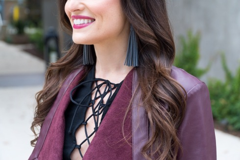 leather-tassel-earrings-lace-up-top