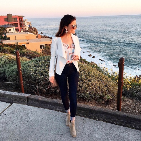 style-beacon-michelle-kuta-zuzek-fashion-blogger-travel-newport-beach-bb-dakota-peppin-drapey-faux-leather-jacket-lush-keyhole-tank-citizens-of-humanity-rocket-sculpt-high-rise-skinny-jeans-gucci-marmont-matelasse-shoulder-bag-frye-naomi-pickstitch-shootie-bootie-